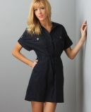 Lulu's Tomboy Dress in Navy