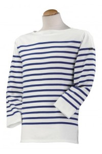 Saint James striped boat-neck tee shirt
